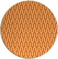rug #1012905 | round red-orange retro rug