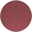 rug #1012977 | round light-green graphic rug