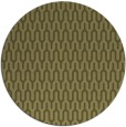 rug #1012981 | round light-green graphic rug