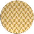rug #1012985   round light-orange retro rug