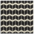 rug #1013389 | square black natural rug
