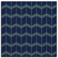 rug #1013405 | square blue-green gradient rug