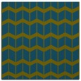 rug #1013445 | square blue-green gradient rug