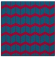 rug #1013489 | square blue-green gradient rug