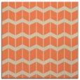 rug #1013573 | square orange gradient rug