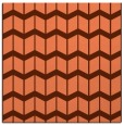 rug #1013577 | square red-orange gradient rug