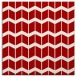 rug #1013613 | square red gradient rug