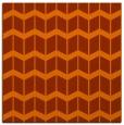 rug #1013629 | square red-orange gradient rug