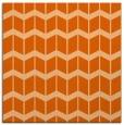 rug #1013633 | square red-orange gradient rug
