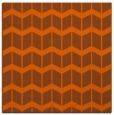 rug #1013637 | square red-orange gradient rug