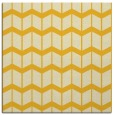 rug #1013677 | square yellow gradient rug