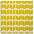 rug #1013685 | square yellow gradient rug
