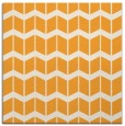 rug #1013725 | square light-orange gradient rug