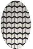 rug #1013736 | oval natural rug