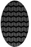 rug #1013738 | oval gradient rug