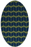 rug #1013773 | oval gradient rug