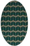 rug #1013847 | oval gradient rug