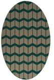 rug #1013848 | oval gradient rug