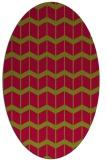 rug #1013856   oval gradient rug