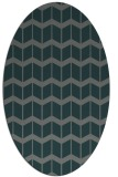 rug #1013862 | oval gradient rug