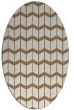 rug #1013882 | oval gradient rug