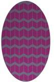rug #1013893 | oval gradient rug