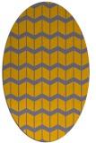 rug #1013895 | oval gradient rug