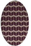 rug #1013898 | oval gradient rug