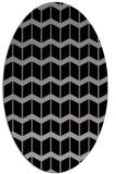 rug #1013902 | oval gradient rug