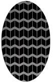 rug #1013904 | oval gradient rug