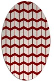 rug #1013936 | oval gradient rug
