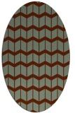 rug #1013943 | oval gradient rug