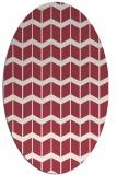 rug #1013951 | oval gradient rug