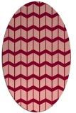 rug #1013956 | oval gradient rug
