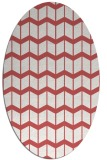 rug #1013960 | oval gradient rug