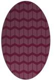 rug #1013964 | oval gradient rug