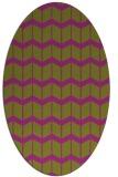 rug #1013968 | oval gradient rug
