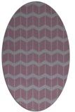 rug #1013975 | oval gradient rug