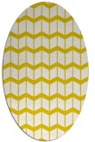 rug #1014017 | oval white gradient rug