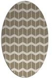 rug #1014040 | oval gradient rug