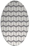 rug #1014052 | oval gradient rug