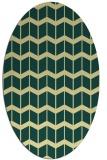 rug #1014058 | oval gradient rug