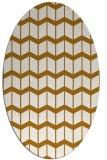 rug #1014080 | oval gradient rug