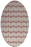 rug #1014082 | oval gradient rug