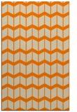 rug #1014093 |  orange gradient rug