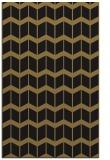 rug #1014121 |  brown gradient rug