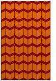 rug #1014293 |  orange gradient rug