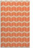 rug #1014301 |  orange gradient rug