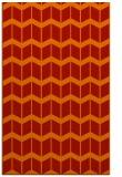 rug #1014345 |  orange gradient rug