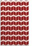 rug #1014349 |  red gradient rug